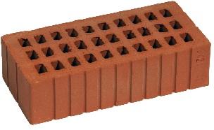 Кирпич керамический пустотелый 1 НФ