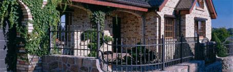 Использоание клинкерного кирпича на фасаде